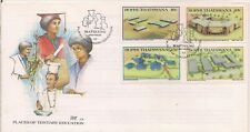 1987-BOTSWANA-PLACES OF TERTIARY EDUCATION-FDC.