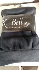 K, Bell Fleece Lined Super Soft Leggings S/M NWT Black