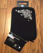 """New with Tag, HP 10.2"""" Mini Sleeve for Notebook Computers, Black - Fits iPad"""