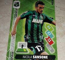 CARD ADRENALYN 2014/15  CALCIATORI PANINI SASSUOLO SANSONE CALCIO FOOTBALL