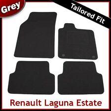 RENAULT LAGUNA ESTATE 2007 2008 2009 2010...2012 Tailored Carpet Car Mats GREY