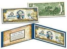 TENNESSEE Statehood $2 Two-Dollar Colorized U.S. Bill TN State *Legal Tender*