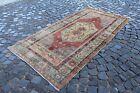 Area rug, Vintage rug, Living room rug, Bohemian rug, Carpet   3,9 ft x 7,4 ft