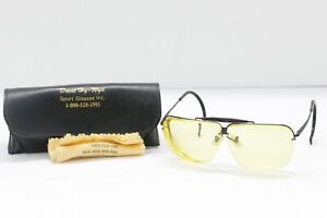 Vintage Decot Hy-wyd Sport Shooting Fishing Glasses *Frame Only* w/ Case