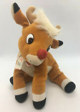 VTG Rudolph The Red Nosed Reindeer Plush Toy - EUC