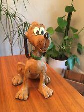 """Disney Poliwoggs 8"""" Pluto Figure David Critchfield & Vic Fortunato Perfect Dog"""