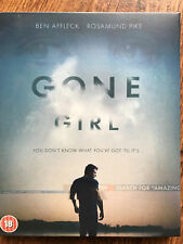 Ben Affleck GONE GIRL ~ 2014 David Fincher Thriller | UK Blu-ray in Digipak