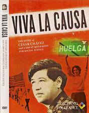 Viva La Causa (DVD, 2008) Cesar Chavez;Teaching Tolerance; Southern Poverty Law