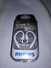 Philips SHS3200WT Flexible Fit in-ear Earphones - White - New Sealed