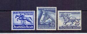 GERMANY 1940, 41, 42 HAMBURG DERBY ( 3 ) MNH CAT £82