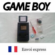 Coque GAME BOY fat original NOIR NEUF Black NEW + tournevis - étui shell case