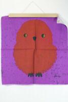 Wandteppich 50er Vintage Wandbehang 60er Traude Sänger Bild Mid-Century Stoff 1