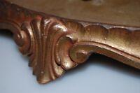 Original Base Culot une Grandes Kamiuhr Cloche en Verre Bronze Doré Dm 49cm