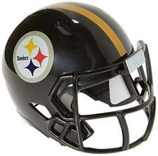 4 Pittsburgh Steelers NFL Riddell Speed Pocket Pro Mini Football Helmet