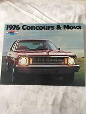 Chevy NOVA 1976 Sales Brochure.. NICE!