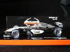 Minichamps 1:43 Kimi Raikkonen McLaren Mercedes MP4-17 # 4 F1 race car 2002