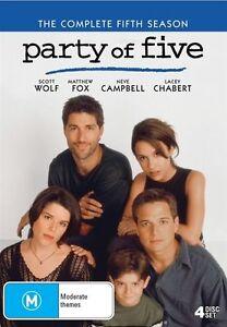 Party Of Five : Season 5 (DVD, 2017, 4-Disc Set) - Region 4
