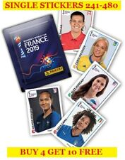 Panini FIFA Women's World Cup France 2019 Single Stickers 241-480 -Buy4Get10Free