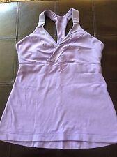Lululemon Light purple short sleeve workout top Size Small/Medium