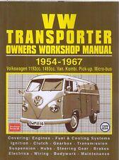 VW SPLIT SCREEN TRANSPORTER VAN BUS KOMBI PICK-UP 1954-1967 REPAIR MANUAL *VGC*