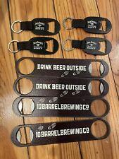 8 Bottle Openers Beer Jack Daniels 10 Barrel Brewing Keychain