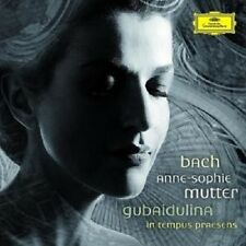 "ANNE SOPHIE MUTTER ""BACH MEETS GUBAIDULINA"" CD NEU"