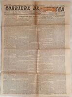 CORRIERE DELLA SERA 4-5 FEBBRAIO 1897 NAPOLEONE AMANTE RISANAMENTO PALERMO