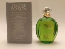 POISON TENDRE by Christian Dior Women 3.3/3.4oz EDT Eau DeToilette 100 ml TST