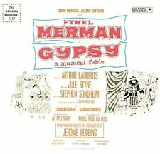 Gypsy [Original Broadway Cast] w/ Ethel Merman (CD, 1999) Remastered/Bonus Trax