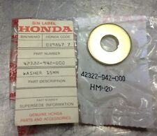 1976 1980 Honda ATC70 ATC90 FL250 Washer (15MM) 42322-942-000 NOS OEM