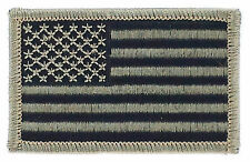 FLAG PATCH PATCHES USA UNITED STATES AMERICAN CAMO  IRON ON EMBROIDERED SMALL