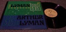 "Arthur Lyman ""'66"" HAWAIIAN LP"
