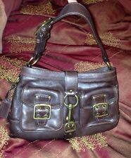 Great Deal!! COACH LEGACY (DARK BROWN) LEATHER SATCHEL BAG- # 7458- Retail $398!