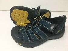 Infant Toddler Boys Youth Keen Navy Blue Newport Shoes Us 13 / Eur 31