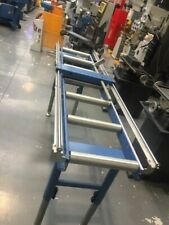 Calibrated Deluxe Length Stop Roller Conveyor Kit, 360mm x 2000mm Linear Measure