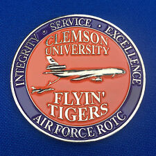 US Air Force ROTC Clemson Univ Flyin' Tigers Det 770 KC-135 USAF Challenge Coin