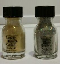 Lot of 2 fantasy makers confetti 12574 glitz ,12575 glamour ,new no sealed