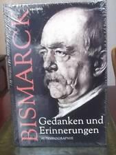 Otto von Bismarck - Gedanken und Erinnerungen – Autobiographie - HC NEU OVP