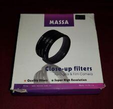 MASSA 62 mm Close-Up Filtro impostato +1,2,4 NUOVO