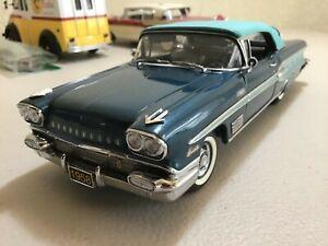 Danbury Mint 1958 Pontiac Bonneville Convertible (NM/M No Box)