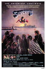 SUPERMAN 2 Movie POSTER 27x40 B Christopher Reeve Margot Kidder Gene Hackman Ned