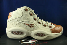 REEBOK QUESTION MID SNS SNEAKERS N STUFF LUX OSTRICH IVERSON BD2532 SZ 7