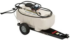 Lawn Garden Sprayer Tow-Behind Wheels Backyard Lawn Yard Outdoor Watering