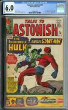 TALES TO ASTONISH #59 CGC 6.0 OW/WH PAGES // 1ST HULK IN TITLE + CLASSIC COVER