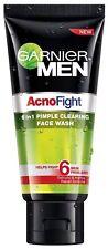 2X Garnier Acno Fight Face Wash for Men with salycylic acid-100 gm ACNE CLEAR