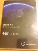 SD Card Garmin Map Pilot 2017 China  SD Karte V.1.3 Mercedes Benz NEU