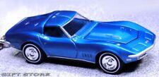 KEY CHAIN BLUE 68/69/70 1968/1970 CHEVY CORVETTE C3 V8 427 VETTE LIMITED EDITION