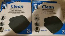 (2) Box Cat It Clean Replacement Carbon Filters - #50705- Catit- 4 Filters Total