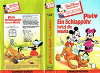 (VHS) Pluto - ein Schlappohr hetzt die Meute (Walt Disney)