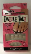 Fing'rs 24 pack Dazzle Toes Complete Toe nail Kit 31061